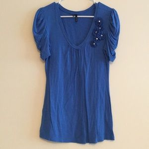 Maurices Dressy V-neck Tee